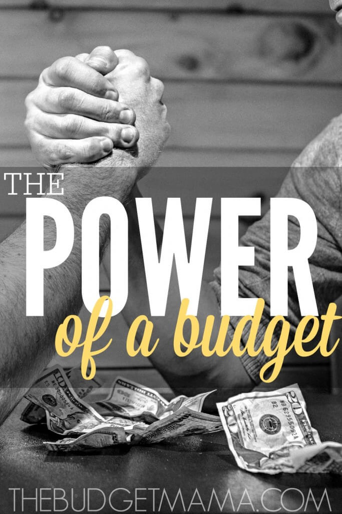 The power of a budget is freedom. A budget gives you freedom from being pushed over and bullied by your own impulses. Harness the power of a budget today.