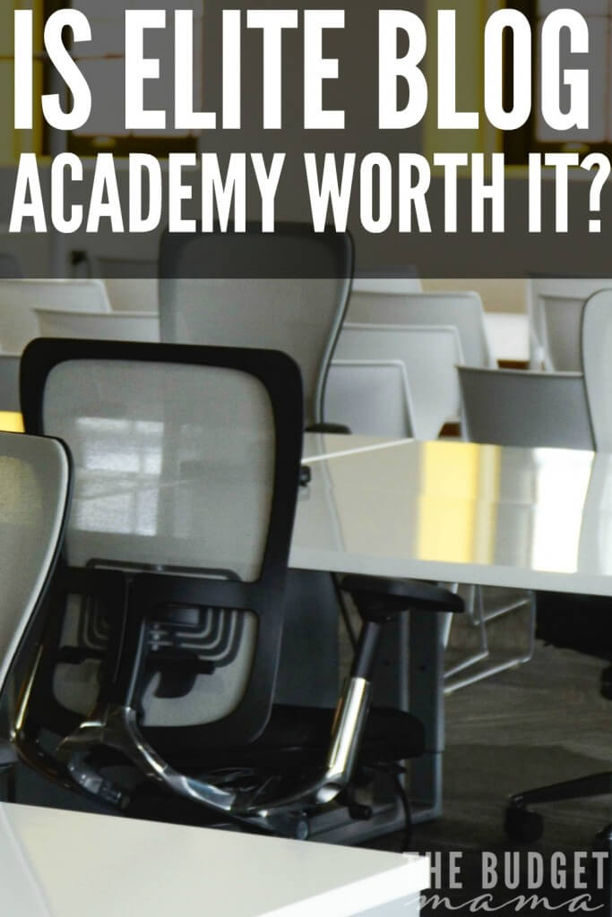 Should I take Elite Blog Academy, the blog course offered by Ruth of LivingWellSpendingLess.com? This will give you an in depth look at why and why NOT to take the course.