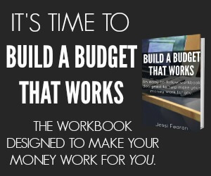 Build a Budget that Works Affiliate Banner