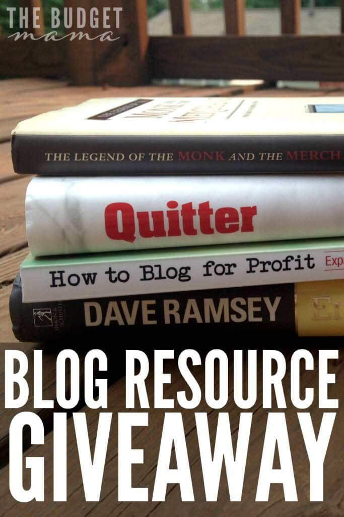 Blog Resource Giveaway
