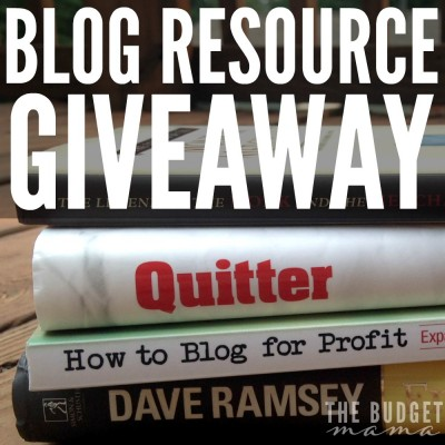 I've learned so much in the last 3 years of blogging and I want to share the resources that have helped me grow my blog! Make sure you enter to win these blogging resources along with an Erin Condren eGift Card!