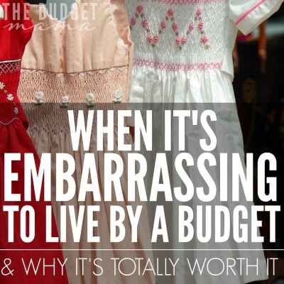 It's embarrassing to live by a budget sometimes but it is so worth it. Even on the days it doesn't seem worth it, it is. A budget is your guidebook to knowing how much you can and cannot spend allowing the impossible opportunities to become possible.