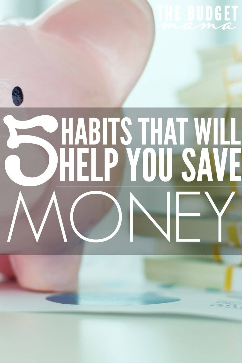 saving habit Saving for tomorrow is a necessary evil some seem to have difficulty embracing, so instead of making a short-term goal, ask yourself how really effective everyday savers do it below are five habits super savers adopt:.