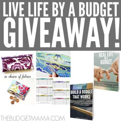 """Living a real life by a budget isn't always easy but this """"Live Life by a Budget"""" Giveaway will help give you some of the tools necessary to help make living a real life by a budget more manageable!"""