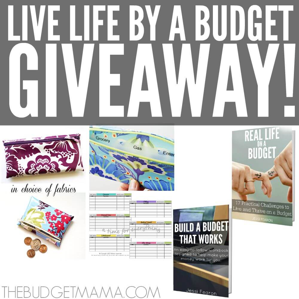 "Living a real life by a budget isn't always easy but this ""Live Life by a Budget"" Giveaway will help give you some of the tools necessary to help make living a real life by a budget more manageable!"