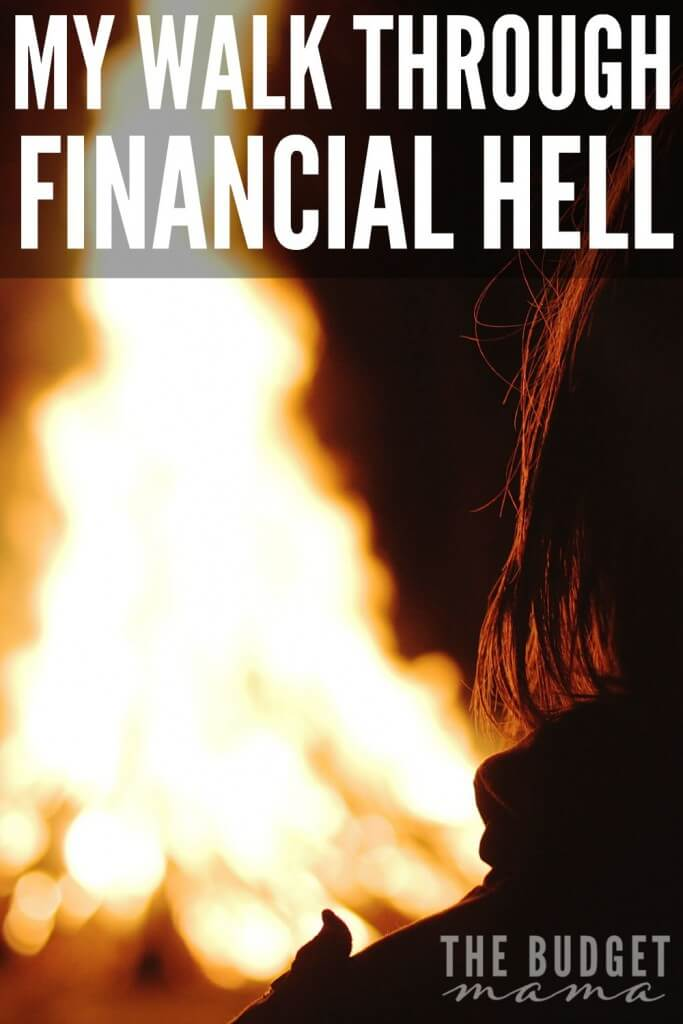 My walk through financial hell wasn't easy and I'm sure if you've ever felt the heat from the depths of the trenches, it probably wasn't easy for you either. If you need help climbing your way out of the fire, hopefully this post can encourage you to take the scary first step to getting out of financial hell.
