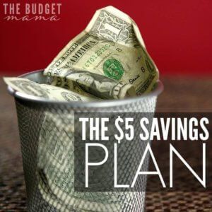 Getting started with saving money can be tough. I mean, where do you begin? The $5 Savings Plan is meant to help you get started on building up your emergency fund and making saving money and paying yourself first, a habit.