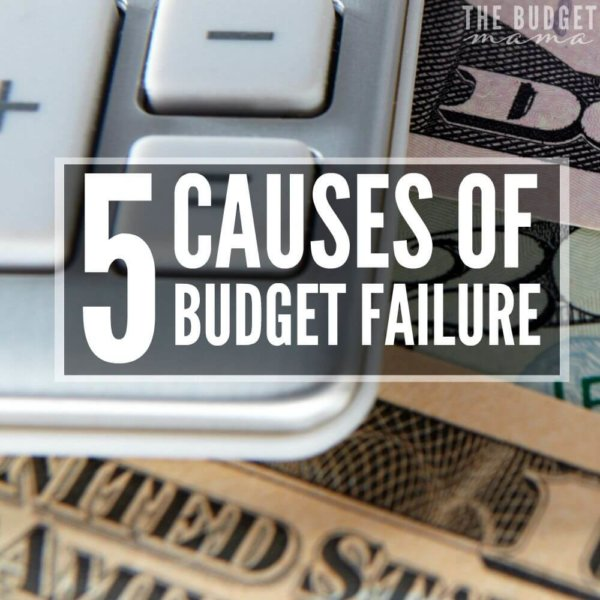 5 Causes of Budget Failure and What to do About It