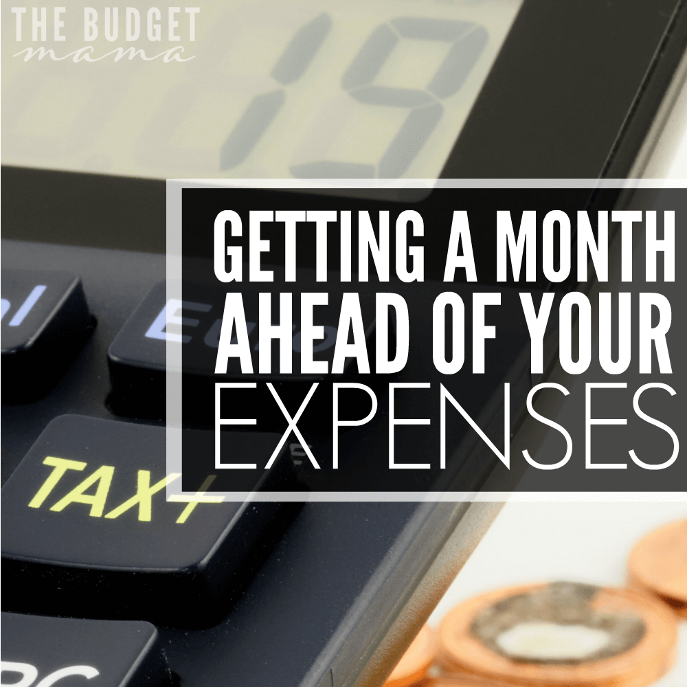 getting a month ahead of your expenses jessi fearon