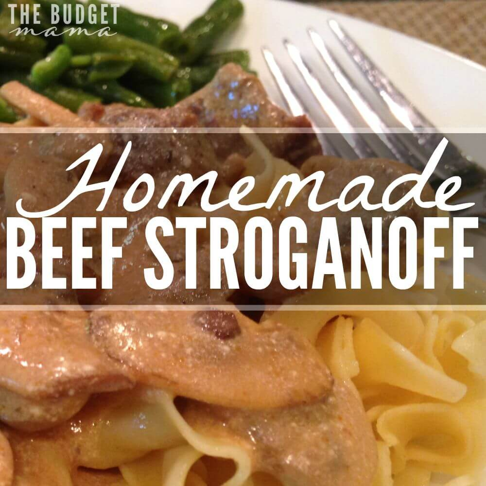 "Homemade Beef Stroganoff (No Cream of ""Whatever"" Used!)"