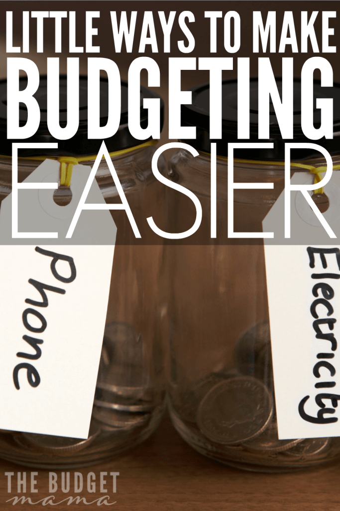 These little ways to make budgeting easier will help you figure out