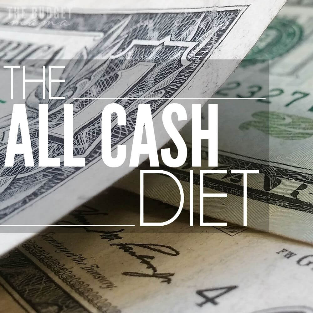 The All Cash Diet. Your October Budget Challenge!