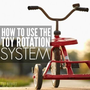 This advice from a former day care owner is genius! If you have kids at home, you know how quickly toys can take over. With the toy rotation system, you have control and your sanity (and wallet) are saved!