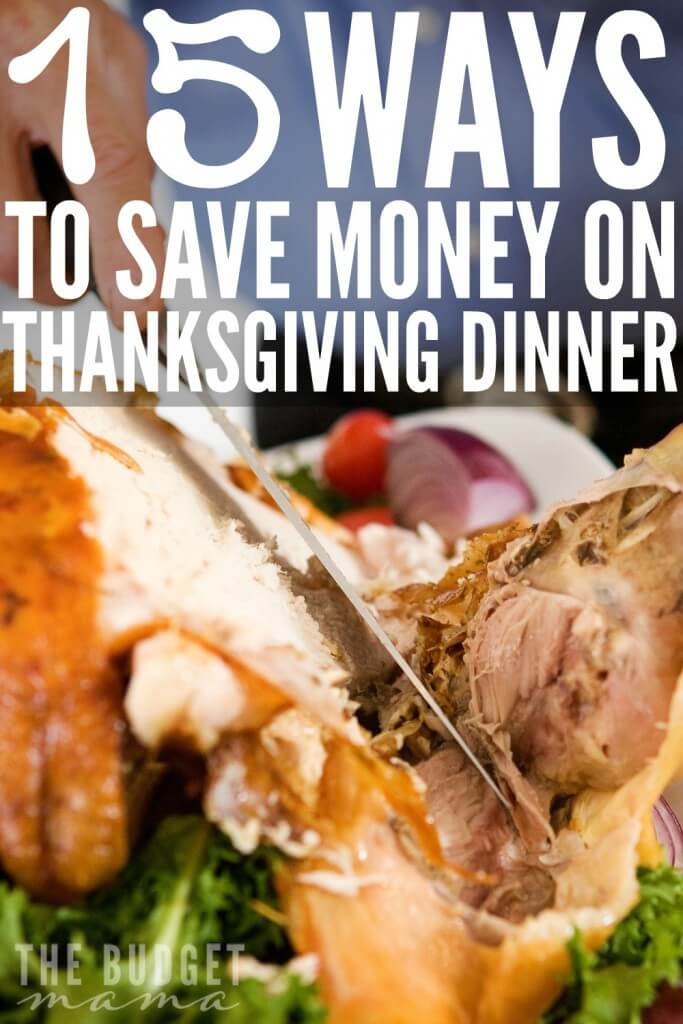 This is a great post from Reelika on how to save money on Thanksgiving dinner! If you're trying to save on this year's meal, make sure you check out these 15 simple ways to save!