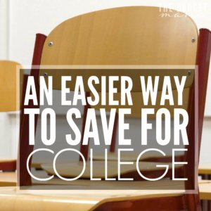 Saving for college is an expense that many parents want to add to their budgets, but where do you start? I mean, there are so many different options out there that it can be a challenge to determine which one is right for you. This is one of those options that will help make saving for college easier.
