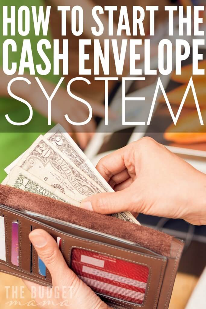 Wondering how to start the cash envelope system so you can make sticking to your budget easier? This is how we make sticking to an all cash budget a little bit easier.
