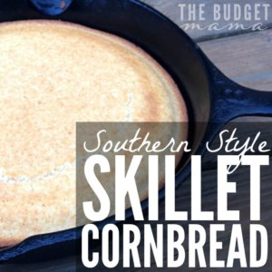 This Southern style skillet cornbread is the perfect compliment to BBQ ...