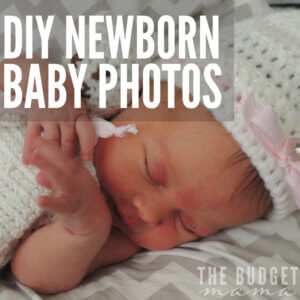 I love newborn baby photos, but I hate the cost. And if you're like me and want to save yourself a pretty penny, these are my tips for DIY newborn baby photos to help you save your money.