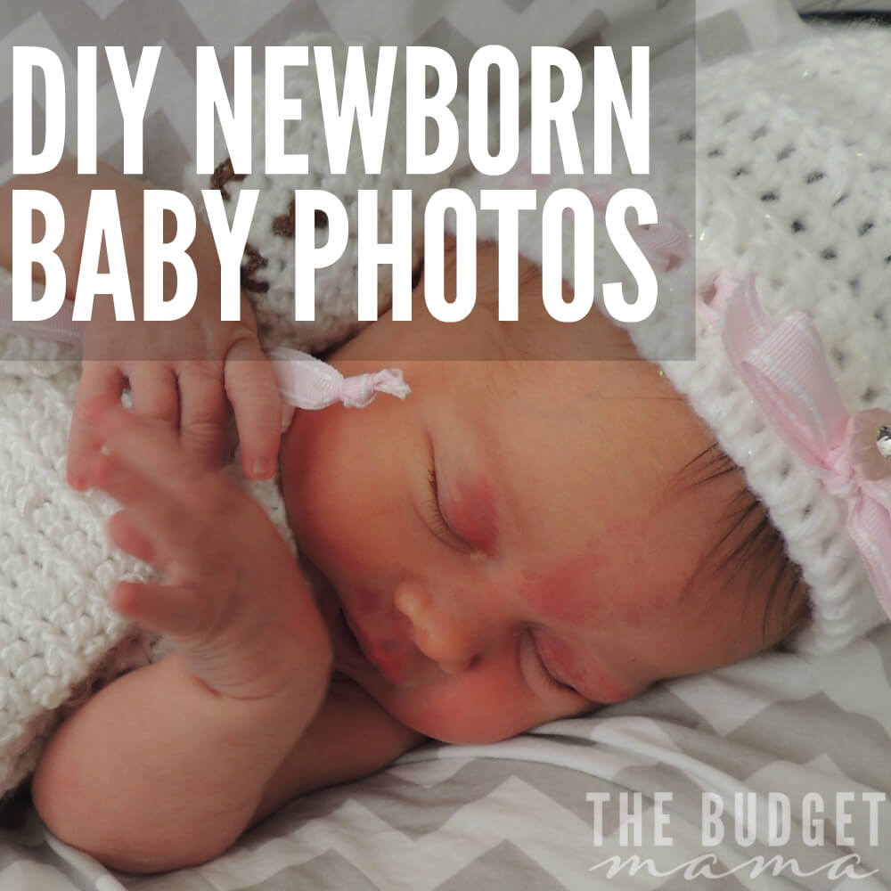 DIY Newborn Baby Photos