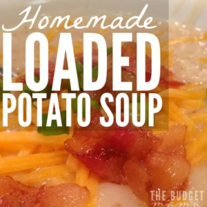 There's nothing better than a hearty homemade soup in the winter and this loaded potato soup is hearty and delicious! It's easy to make and part of a clean eating diet!