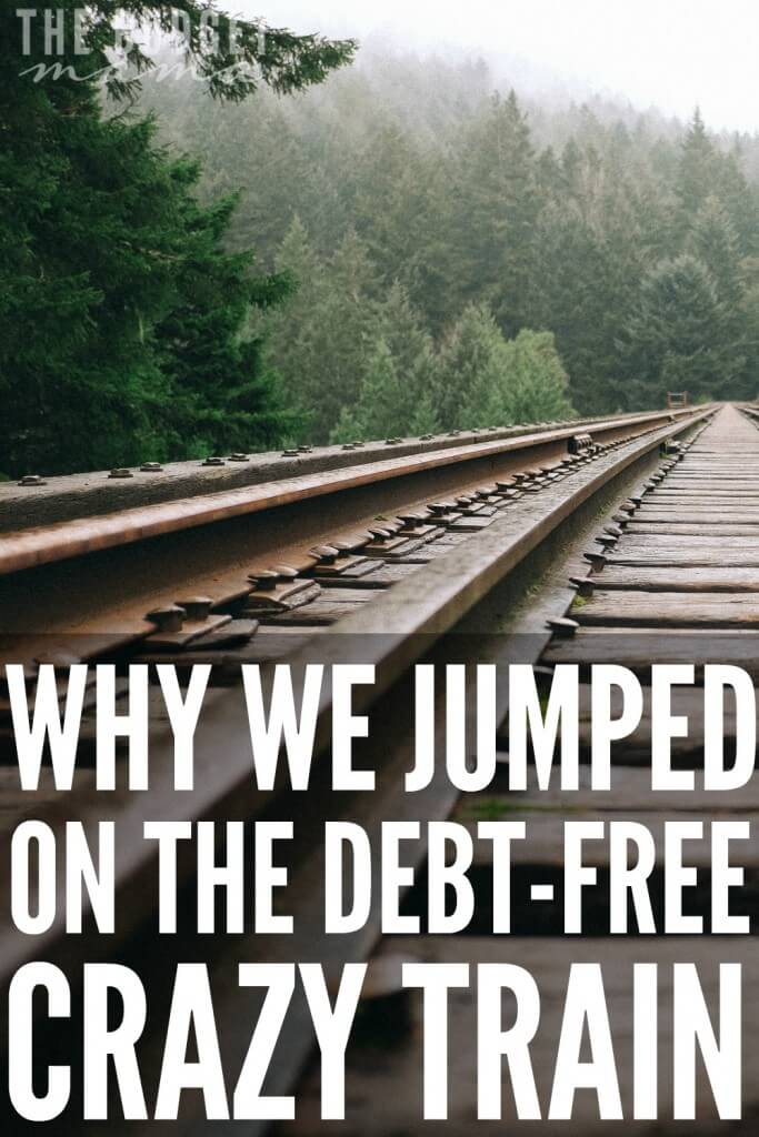 Debt-free seems strange to most people, but to us it has been a huge blessing. After a major financial headache, we jumped on the debt-free crazy train and haven't looked back. Even through the struggles and sacrifices, it's been totally worth it.
