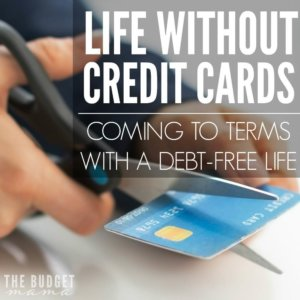 Is it possible to live life without credit cards? Yes, it is. Although it wasn't easy for us to come to terms with the idea of never using a credit card again we're so happy that we jumped on the debt-free journey!