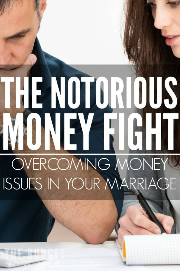 Ahhh...the notorious money fight - you know the one. The one where you start wondering if your marriage will survive. Overcoming money issues in your marriage usually starts with recognizing where we may be lacking...or at least that is how we solved our latest bought of the money fight.
