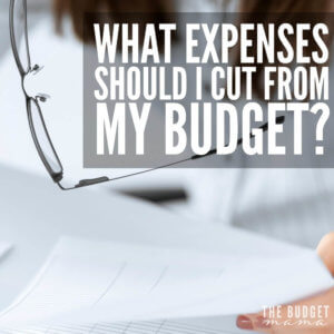 Determining how to figure out what expenses to cut from your budget and which ones should stay is one of the fastest ways to improve your budget. This will walk you through the process, step by step for determining which expenses need to go so you can tailor your budget to fit your life.