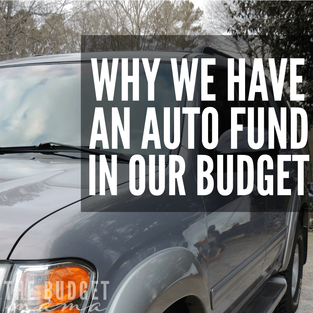 Why We Have an Auto Fund