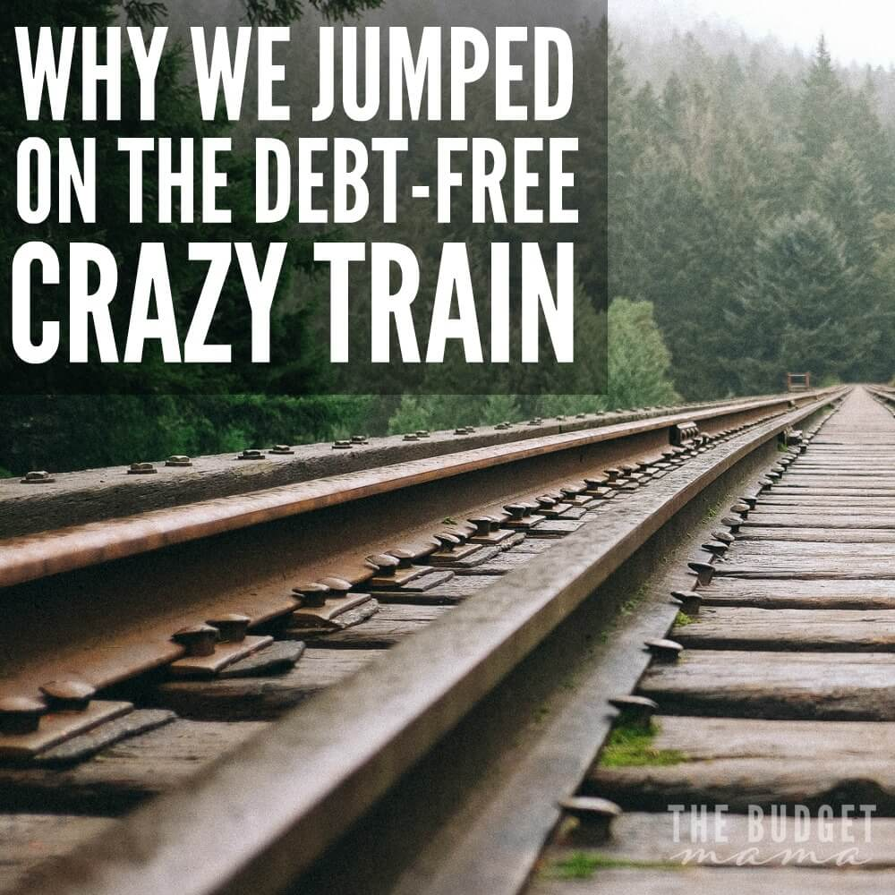 Why We Jumped on the Debt-Free Crazy Train