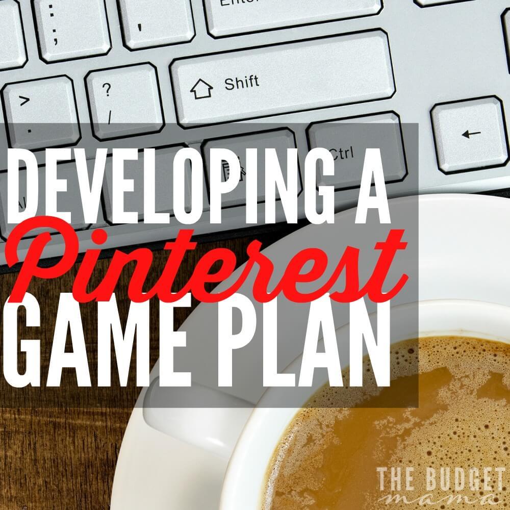 Developing a Pinterest Game Plan