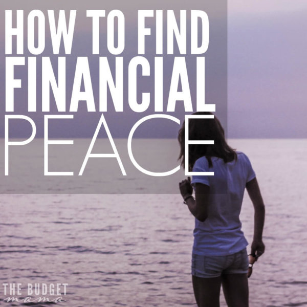 How to Find Financial Peace When You're Feeling Lost
