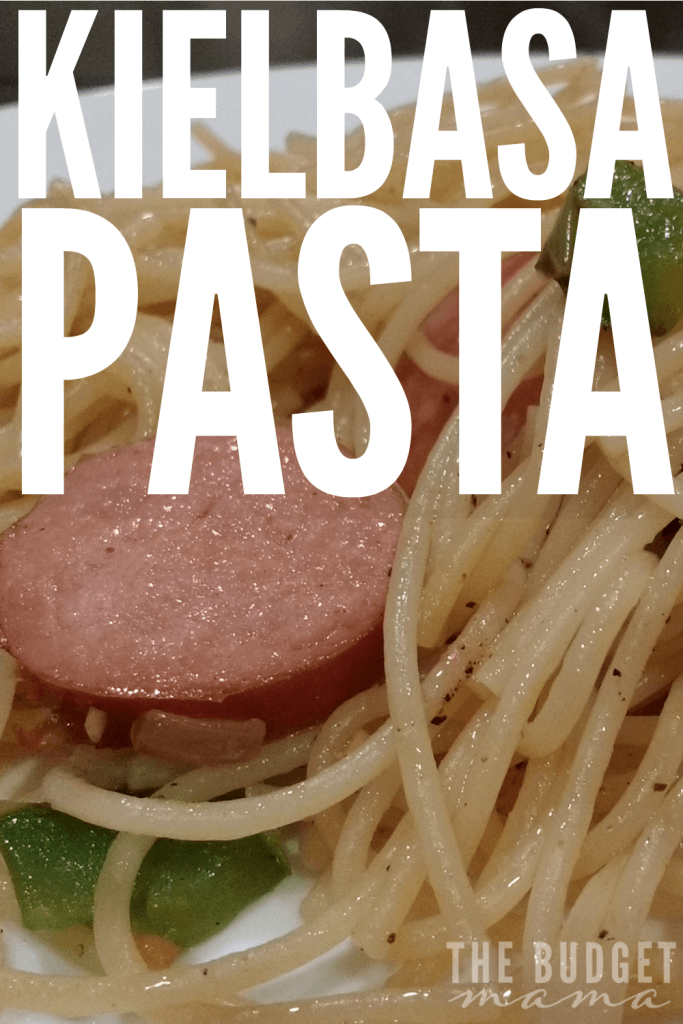 Need an easy and simple weeknight meal idea? This one is a super delicious kielbasa pasta recipe and is quick enough to feed your family even on the busiest of weeknights!