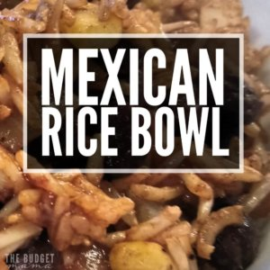This Mexican rice bowl recipe is quick to make and is super filling ...