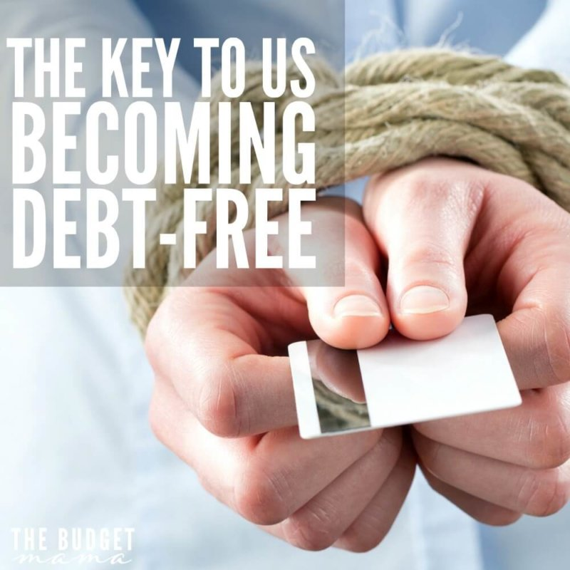The Key to Us Becoming Debt-Free