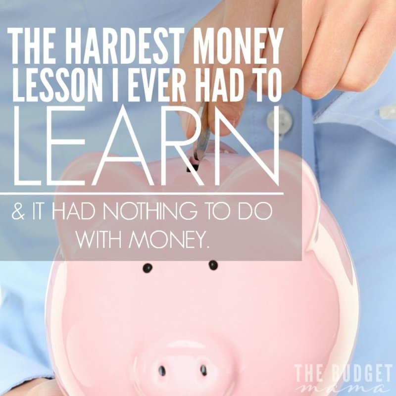 The Hardest Money Lesson I Ever had to Learn