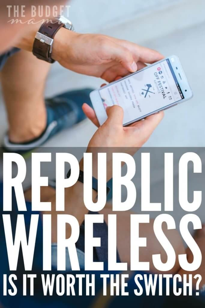 Is Republic Wireless worth switching to?; Republic Wireless is a cell phone provider with plans starting at $10 a month - but is it worth the switch? Republic has saved us so much money since we switched.