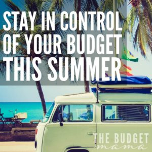 Do you find yourself losing control over your budget in the summer? If so, these tips will help you keep your budget in shape this summer!
