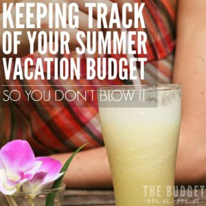 """Keeping track of your summer vacation budget can be challenging especially while on vacation. The """"fund"""" system has been a great way to help us stick to our summer vacation budget and keeping track of our spending has been made even easier!"""