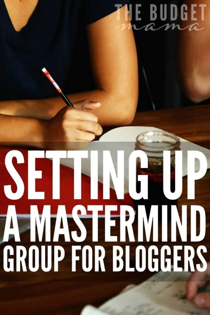 How to set up a mastermind group for bloggers that is not only successful but worth your time. It's easier than you might think.