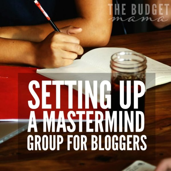 Setting up a Mastermind Group for Bloggers
