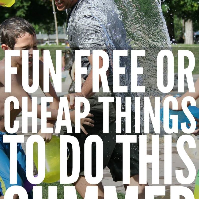 Fun FREE or Cheap Things to do this Summer