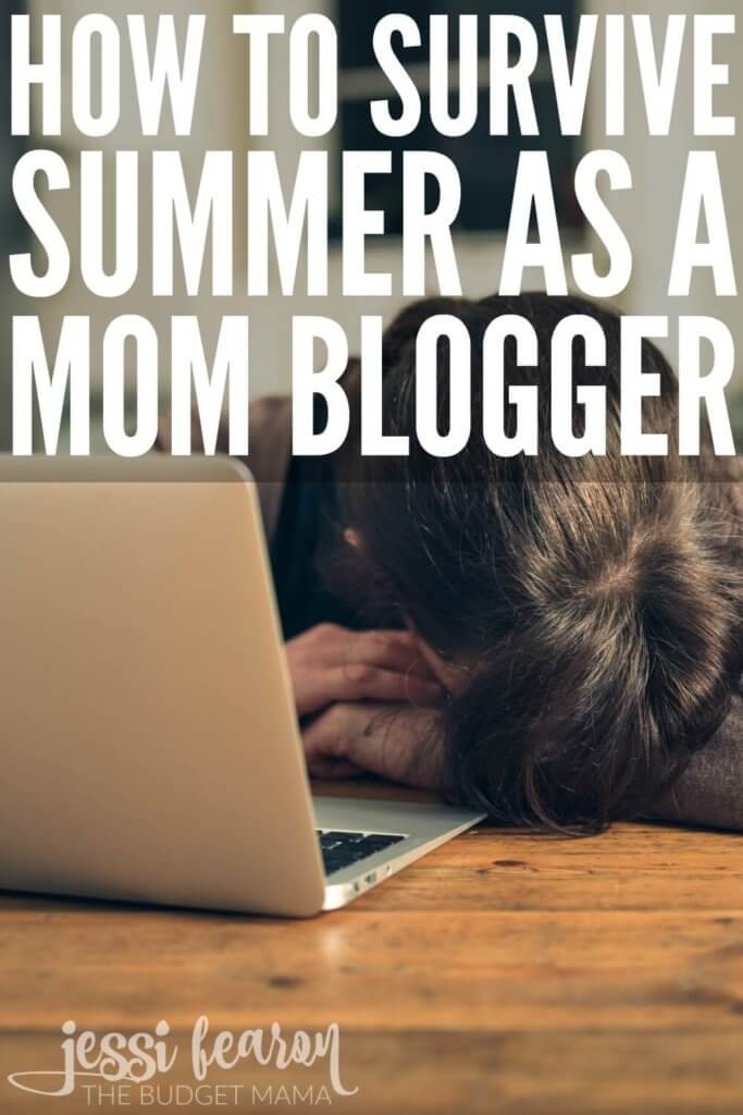 I didn't think it was going to be possible to survive summer as a mom blogger but thankfully, I've been able to get through it unscathed and you can do!