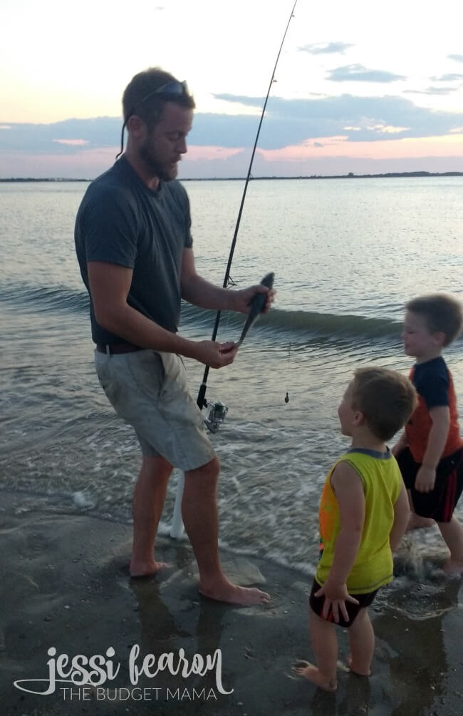The Boys Fishing
