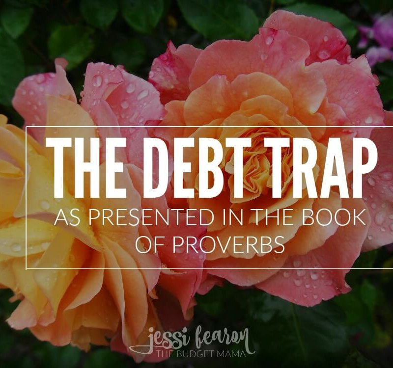The debt trap - the trap that was meant to keep you broke. If you're looking to dig deep into tackling debt and need some spiritual encouragement to make it happen, this is the post for you!
