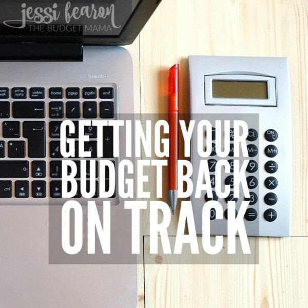 Getting Your Budget Back on Track