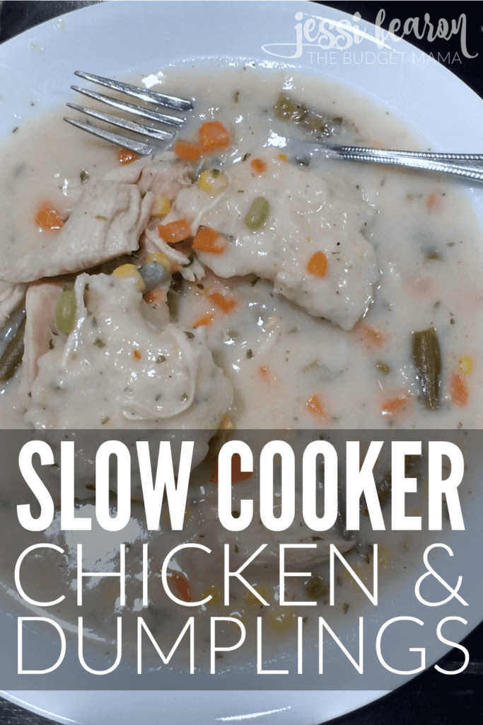 Slow Cooker Chicken and DumplingsJessi Fearon