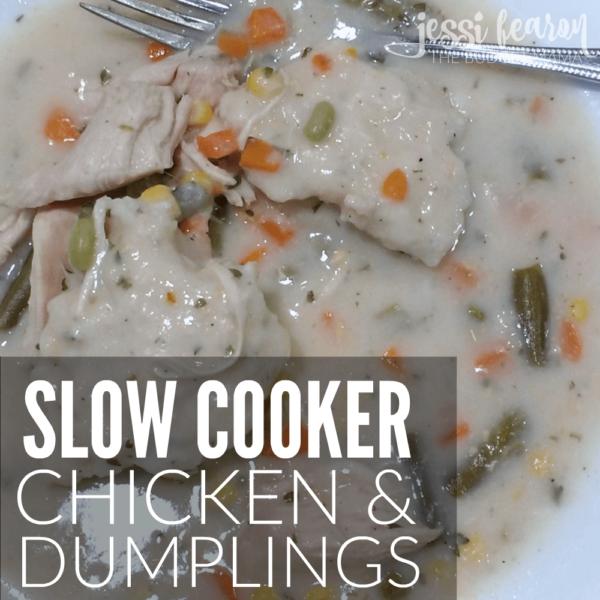 Slow Cooker Chicken and Dumplings