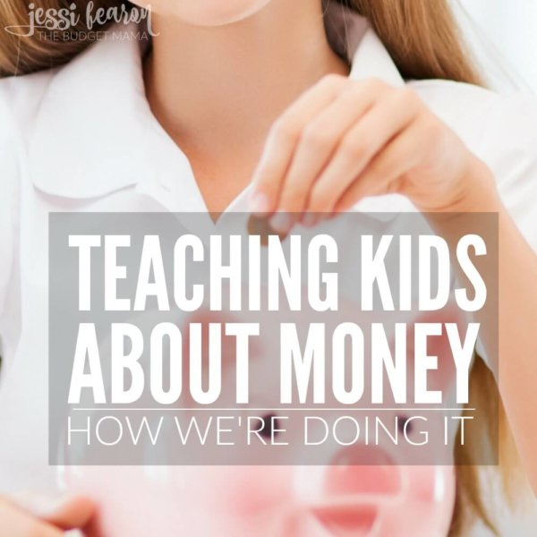 Teaching Kids about Money – How We're Doing It