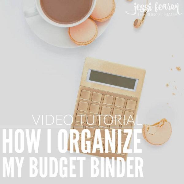 My 2017 Budget Binder